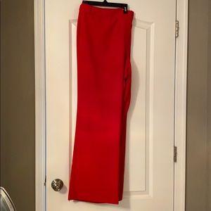EUC Calvin Klein Dress Pants Red size 20W